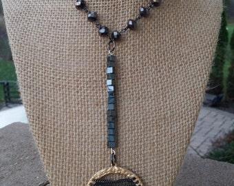 Golden Smoke Necklace