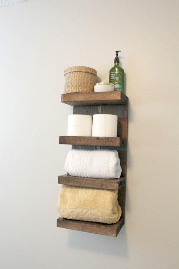 bathroom towel rack 4 tier bath storage everyday towel rack. Black Bedroom Furniture Sets. Home Design Ideas