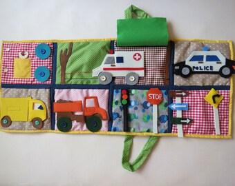 Quiet book for boys, Montessori, Baby & Toddler toys