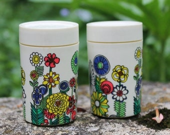 Set of Two Vintage Salt and Pepper Shakers