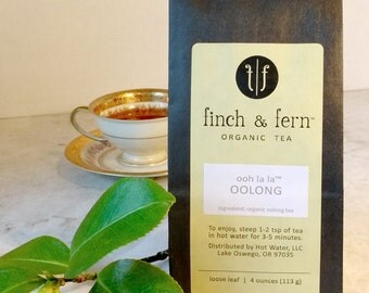 Organic Tea: OOLONG | Loose Leaf | Large (4 oz)
