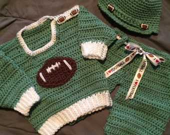 Football Sweater Set