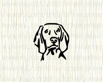 Weimaraner Decal, Weimaraner Car Decal, Weimaraner, Hunting Dog Decal, Pointer Dog Breed, Memorial Gifts for Animal Lovers,Vizsla,Grey Ghost