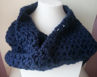 Cool infinity scarf - scarf infinite in the round