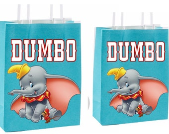 Dumbo Party Favor Bag Printable Instant Download