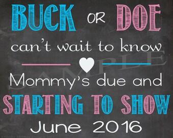 Buck or Doe? June 2016