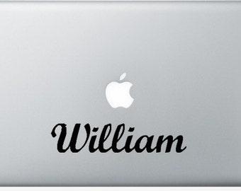 Custom name sticker, personalized Vinyl Sticker, MacBook Decal, Vinyl Letters, laptop sticker, initials, nursery decal, custom name, phrase
