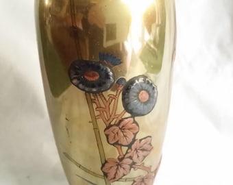 Vintage Brass/Copper/Silver Japanese vase