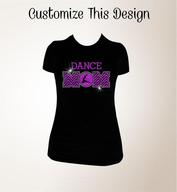 dance mom t shirt dance mom bling shirt dance mom shirts. Black Bedroom Furniture Sets. Home Design Ideas