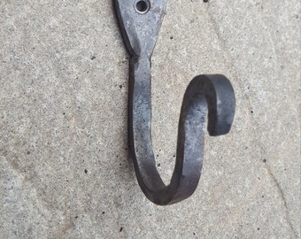 Small Hand Forged Single Hook