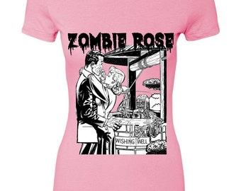 Zombie Wish You Well PINK tee