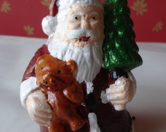 Santa Claus Shaped Scented Candle