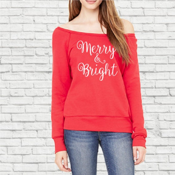 Merry & Bright Sweatshirt. Christmas sweatshirt.Merry Christmas. Christmas Day Sweatshirt. Merry Christmas yall. Funny Merry Christmas .