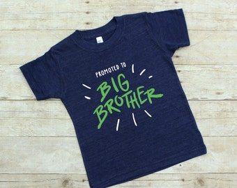 Big Brother Shirt - Future Big Brother - Promoted to Big Brother - Big Brother To Be Shirt - Big Brother Gift - Big Brother Announcement Tee