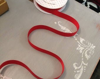 Ribbon- 25 yards of Satin Ribbon- 5/8 in width