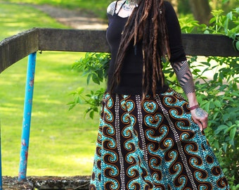 SOLD Do not buy - African Print Maxi Skirt