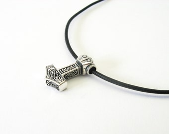 Thor Celtic sterling silver Jewelry Pendant
