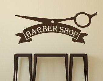 Beauty Salon Decal Etsy - Custom vinyl wall decals for hair salonvinyl wall decal hair salon stylist hairdresser barber shop