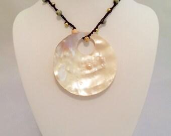 Tides - shell pendant