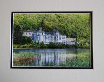 Castle (8x10), Kylemore Abbey, Connemara, County Galway, Ireland
