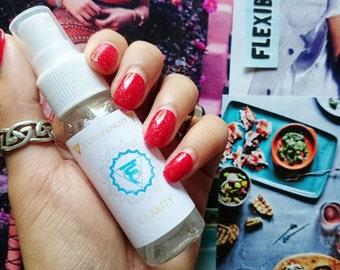 CLARITY: Throat Chakra Fortifying Spray