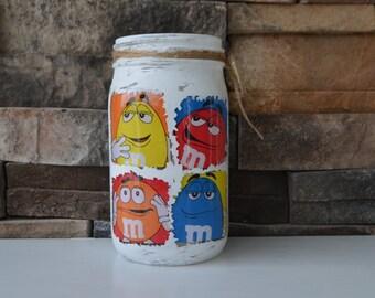 M&M Decorative Mason Jar