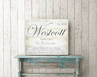 """Shop """"personalized wood signs"""" in Spirituality & Religion"""