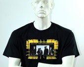 Iggy Pop t-shirt - Post Pop Depression - Tartan T-shirt - Custom Made T-shirt - Band T-shirts - Punk Rock Music