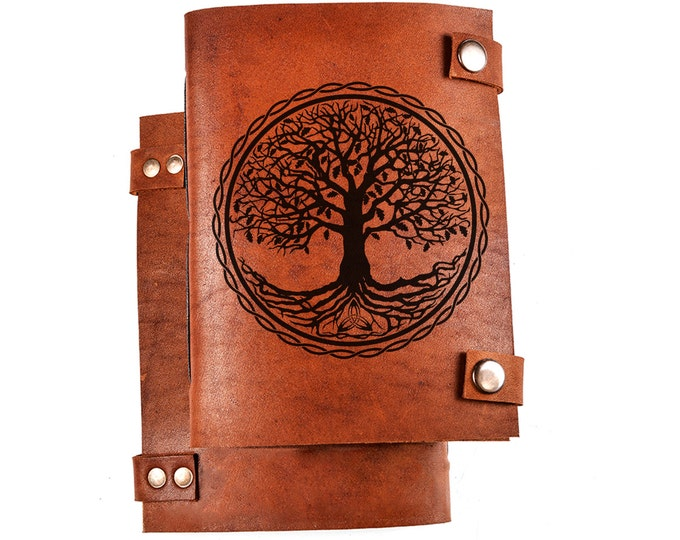 Tree of life journal - tree of life notebook - tree journal - tree notebook - personalized notebook - custom notebook
