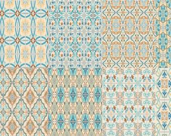 Erin Condren Planner Stickers 8 Full Boxes - Moroccan Tiles