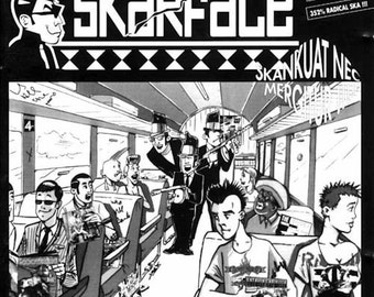 Skankuat Nec Mergitur - Skarface CD album 1996