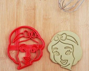Snow white Cookie Cutter snow white decal,59