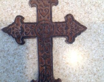Rusty Decor Cross