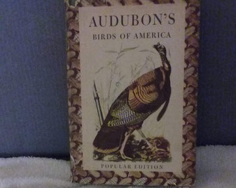 Rare 1950 Edition: Audubons Birds Of America   320 Pages