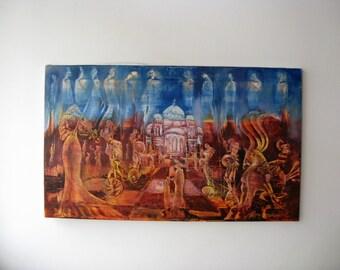 Monegorijas - oil paintings