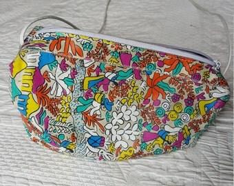 Vintage Carlos FALCHI Colorful Sling Purse - UNIQUE