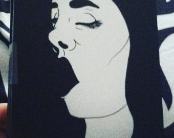 Gasping Girl Prints/Postcards