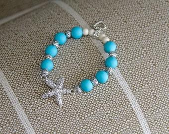 Charm Bracelet- Starfish Charm