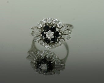 Vintage 1980's Sapphire Ring
