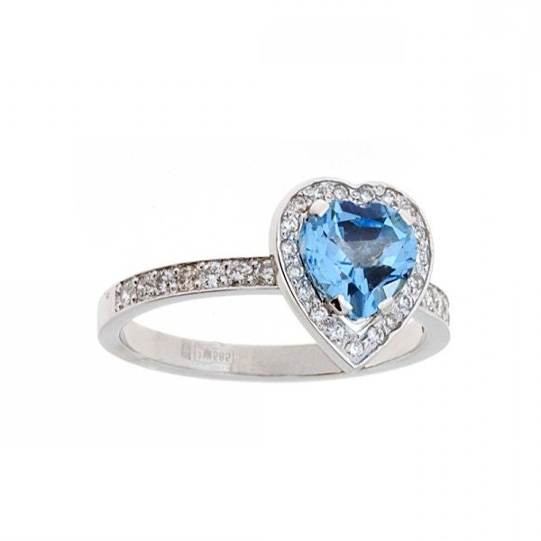 promise ring topaz ring ring birthstone ring
