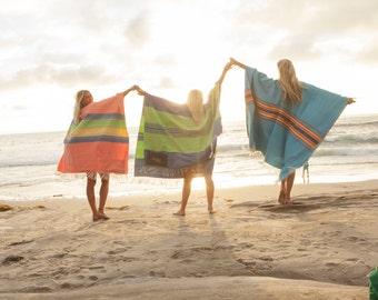 Single Mexican Beach Blankets