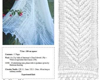 The Nesting Shawl pdf ~ Heirloom Knitting ~ Sharon Miller
