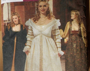 Woman's Renaissance Costume Pattern