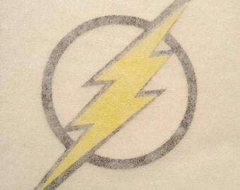 The Flash Vinyl,The Flash Decal,The Flash Logo,The Flash Sticker,DC Comics Decal,The Flash window sticker