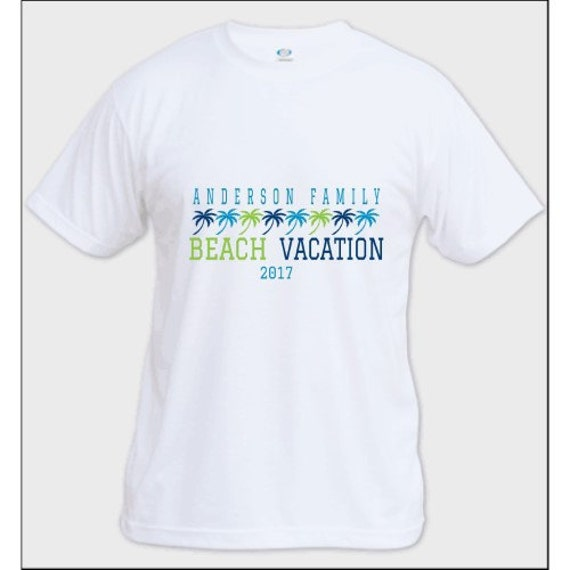 Family reunion shirt custom t shirt family beach vacation for Custom t shirts family vacation