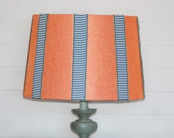 Vertical Striped Lampshade