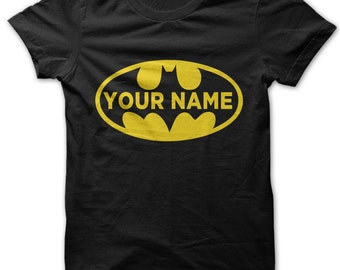 Personalised Custom Batman shirt