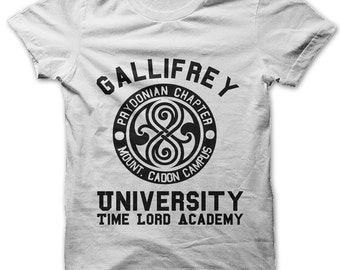 Gallifrey University Time Lord Academy t-shirt
