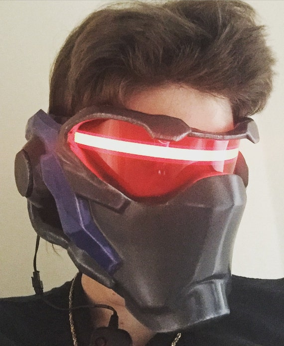 Soldier 76 Mask From Overwatch By Projectprops On Etsy
