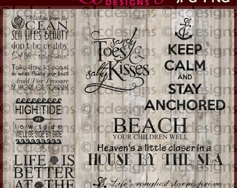 LC015 - Beach and Nautical SVG Designs